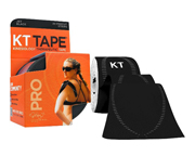 CINTA DEPORTIVA KT TAPE PRO KINESIOLOGY TAPE 20 STRIPS BLACK